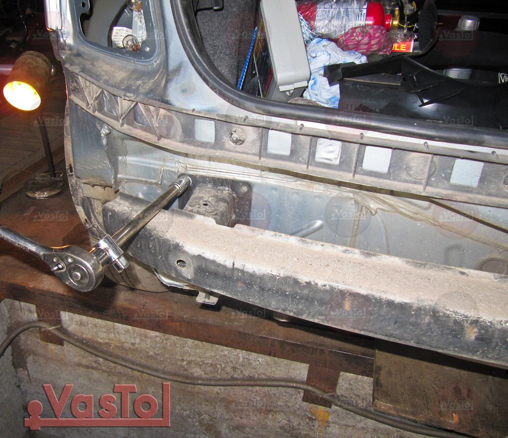 Установка фapкoпа на Skoda Fabia Hatchback - модель от 1999 года выпуска
